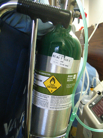 Oxygen tanks need to be refilled regularly unlike oxygen concentrators.