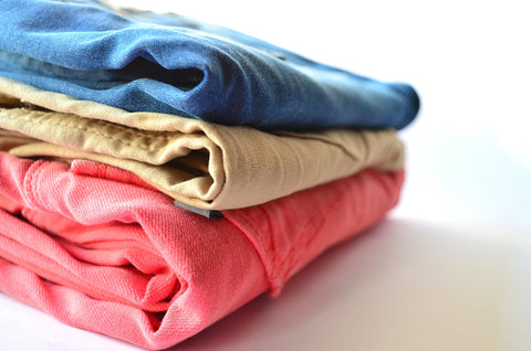 Constantly organizing your closet is difficult with COPD. Choose a system and stick with it.