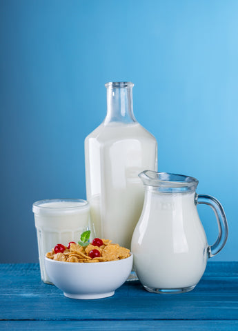 High-calorie foods like milk are great for COPD patients