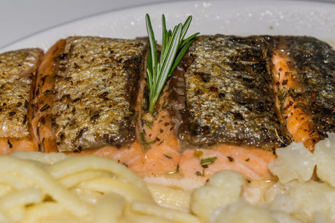 Omega-3 fatty acids found in fish are great for managing COPD.