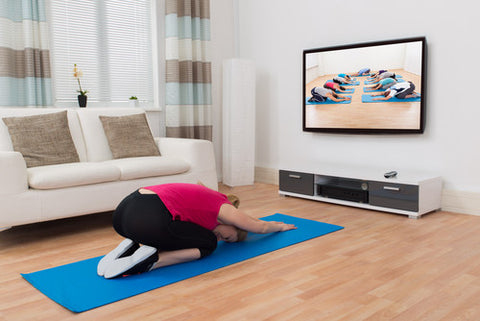 Exercise with TV