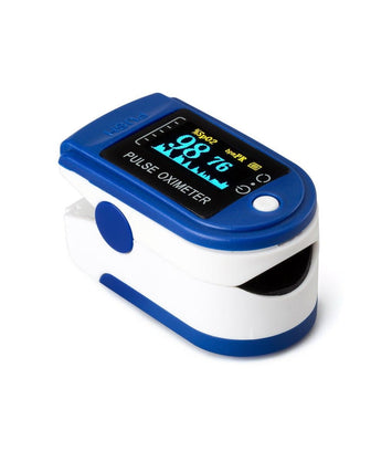 Case of Comfort Plus Cannulas and Pulse Oximeter