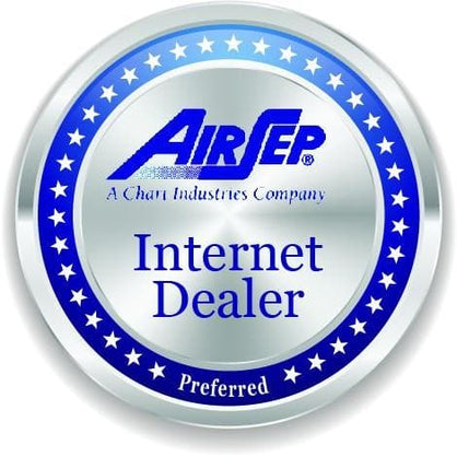 AirSep Preferred Internet Dealer badge