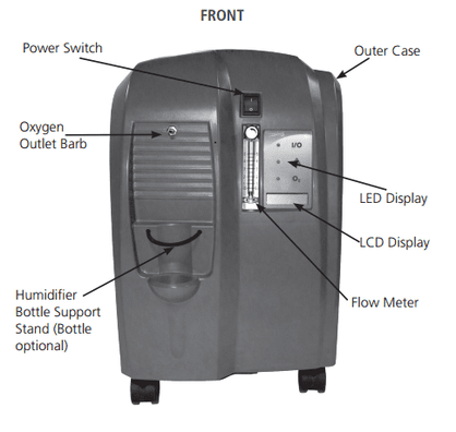 Caire Companion 5 Home Oxygen Concentrator
