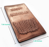 Image of Chocolate Greeting Card - Happy Birthday