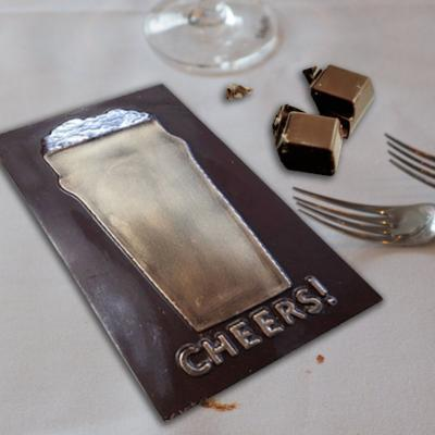 Chocolate Card - Cheers
