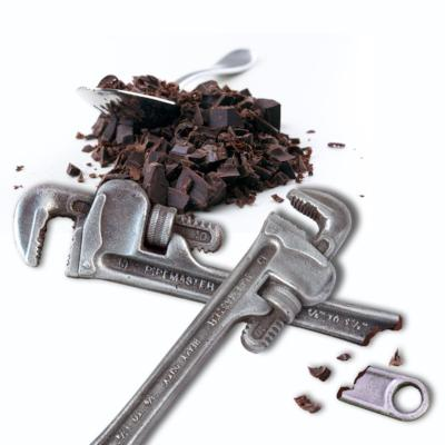 Chocolate Pipe Wrench