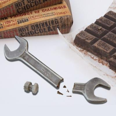 Chocolate Wrench & Nut