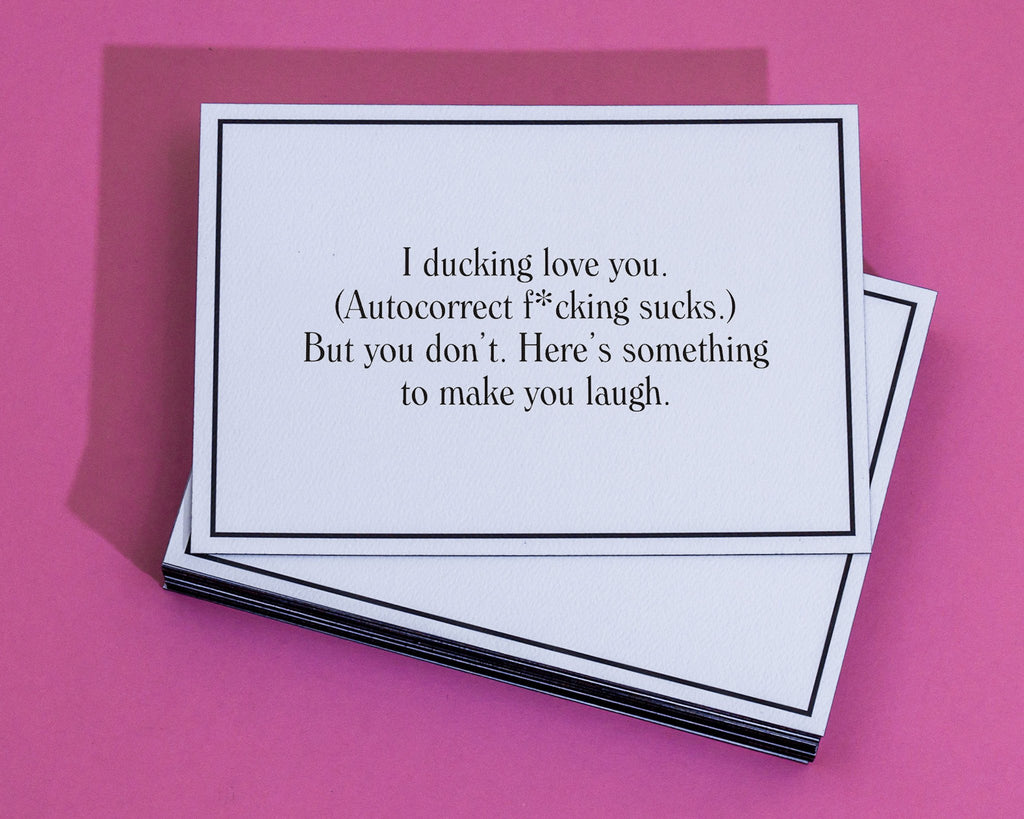 Ducking Love You 🦆 - Thinking of You Greeting Card – Give A Hand