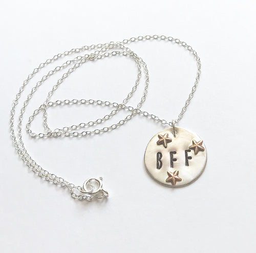BFF & Stars Necklace