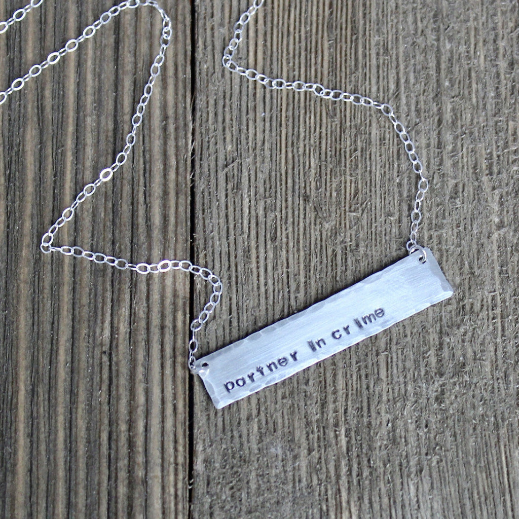 Partner in Crime Necklace