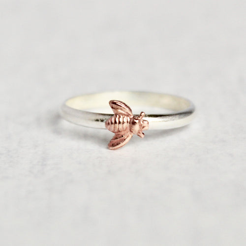 Bee Ring - Contrast Metal