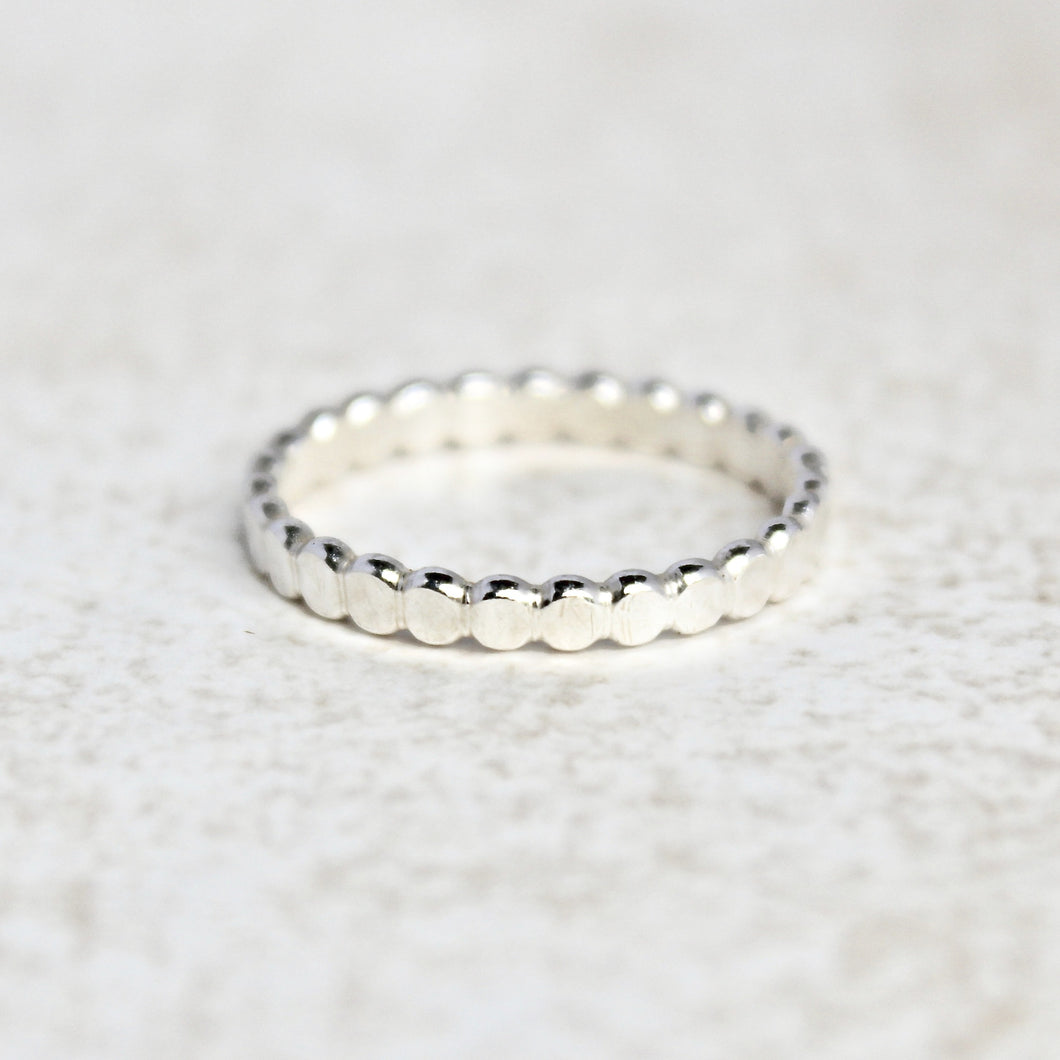 Flat Dotted Ring