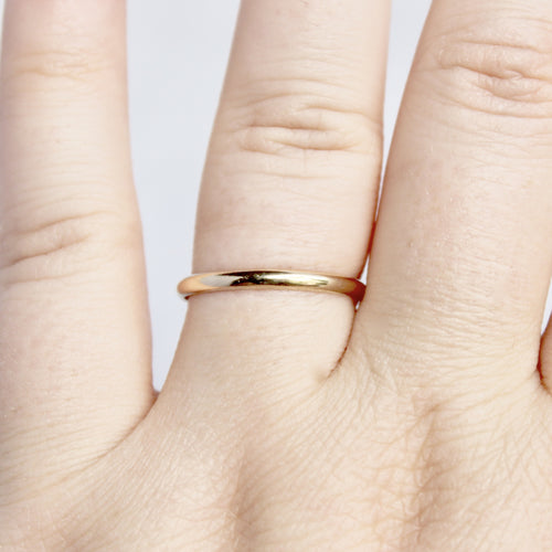 Gold-Filled Ring Band