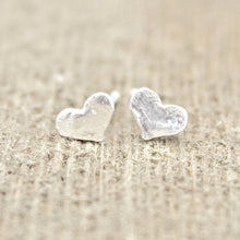 Wide Heart Earrings