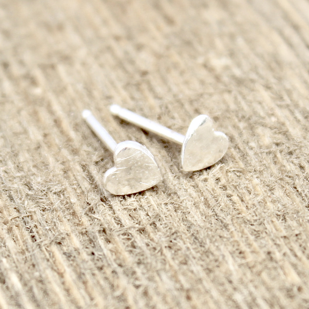 Tall Heart Earrings