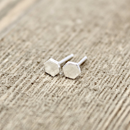 Hexagon Earrings