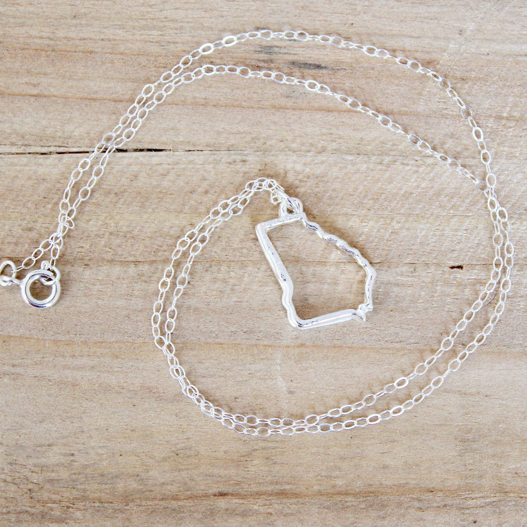 Georgia Frame Necklace