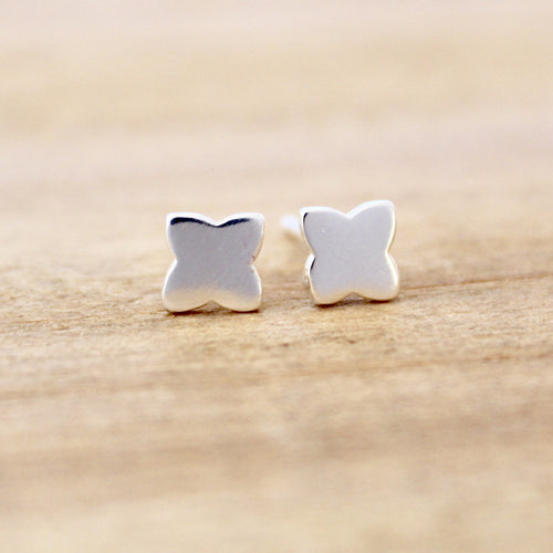 Quatrefoil Clover Earrings