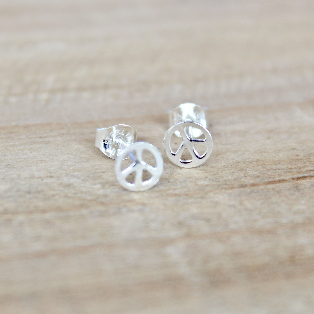 Peace Sign Earrings