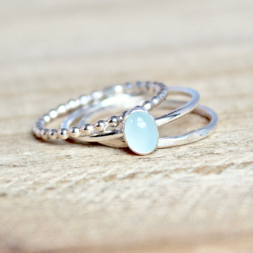 Oval Ring Trio