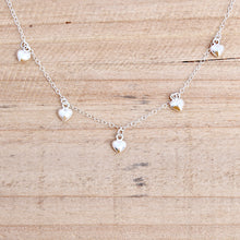 Sprinkle Necklace - Sterling Silver Heart