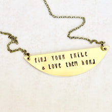 Find Your Tribe & Love Them Hard Necklace