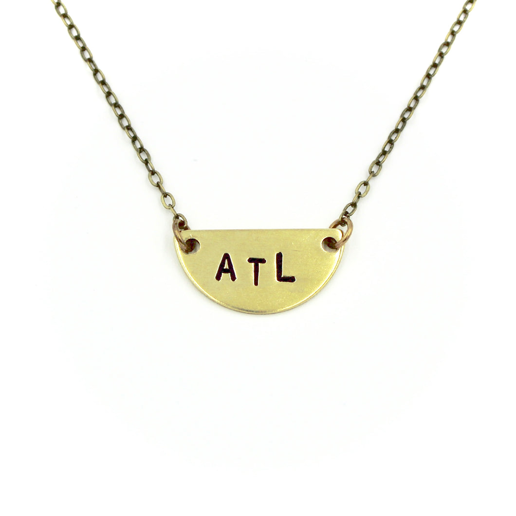 ATL Half Moon Necklace