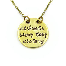 Celebrate Every Tiny Victory Necklace