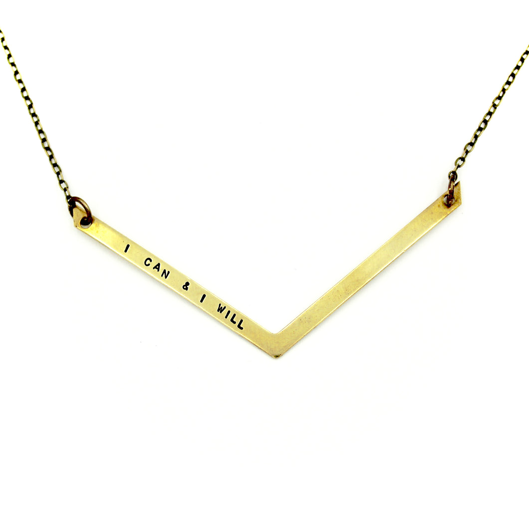 I Can & I Will Necklace
