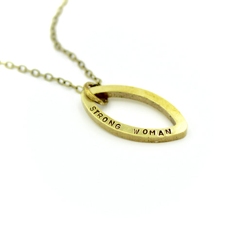 Strong Woman Necklace