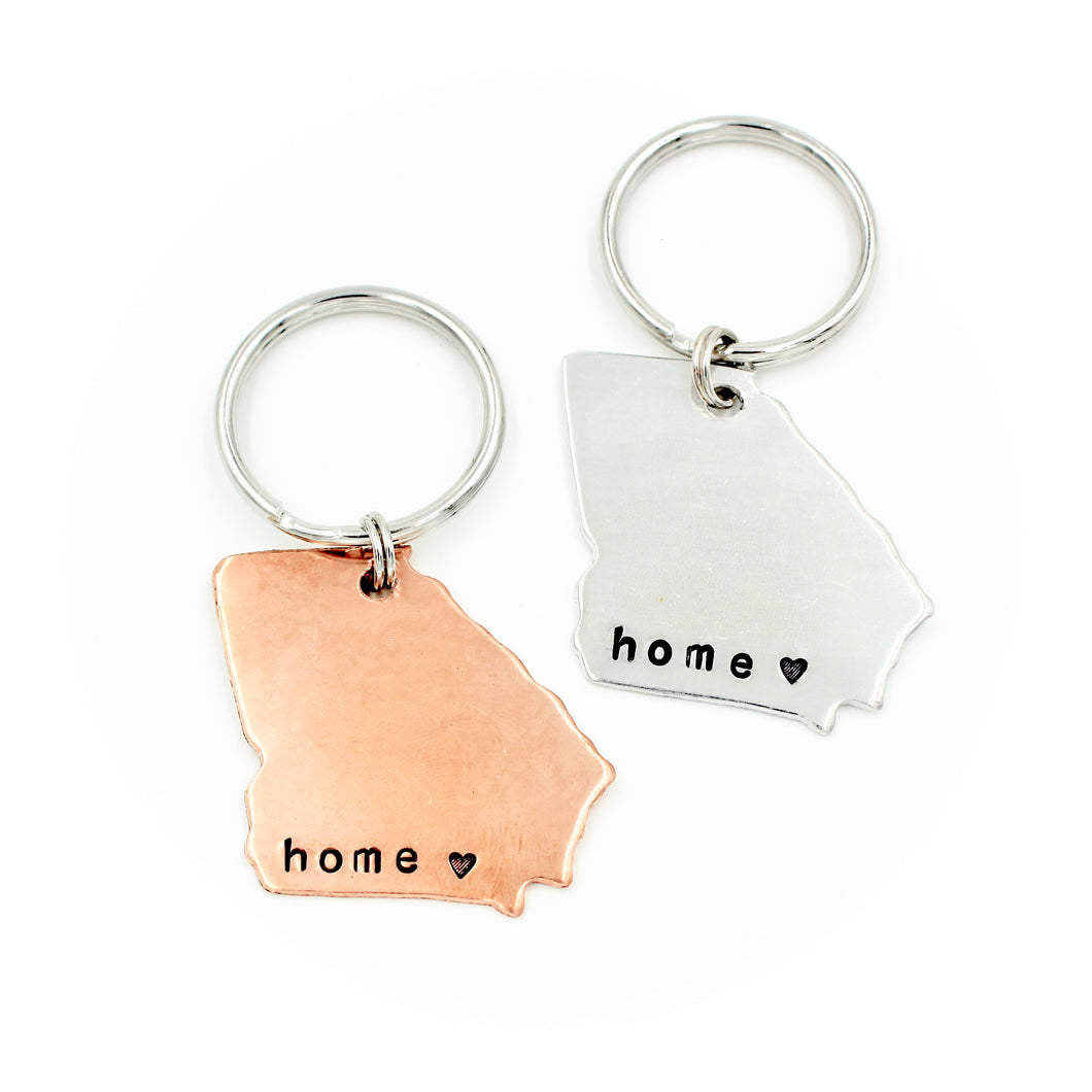 Georgia Keychain - home ♥