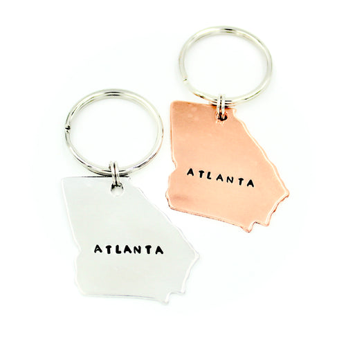 Georgia Keychain - City