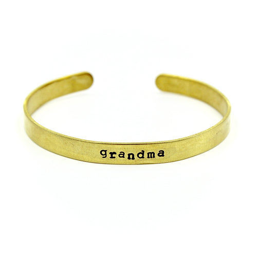 Personalized Bracelet - Brass