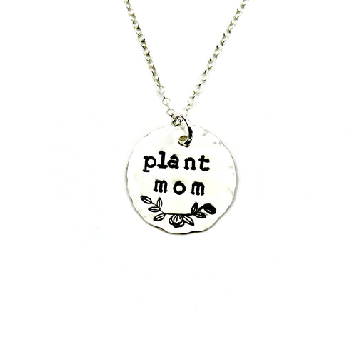 Plant Mom Necklace