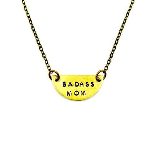 Badass Mom Necklace