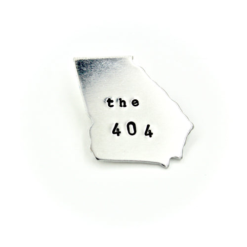 Area Code Georgia Pin