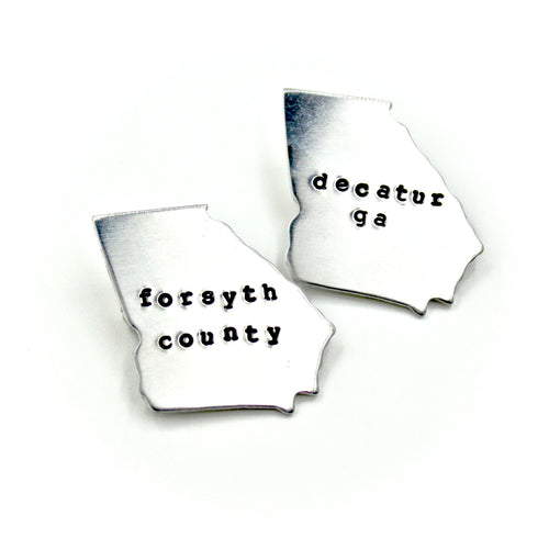 Location in Georgia Pin