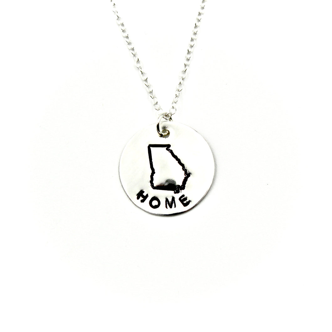 Home State of Georgia Necklace