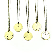 Constellation Necklace - Brass