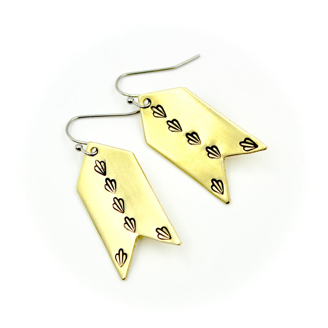 Arrow Dangly Earrings