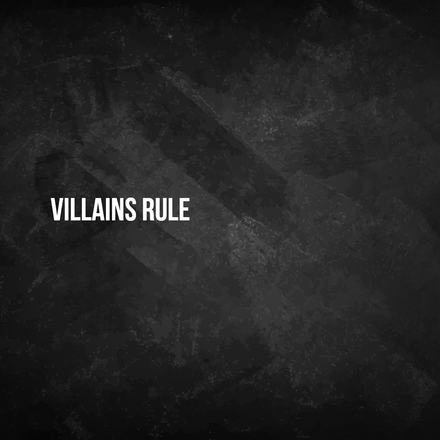 Prefer to be a villain rather than...
