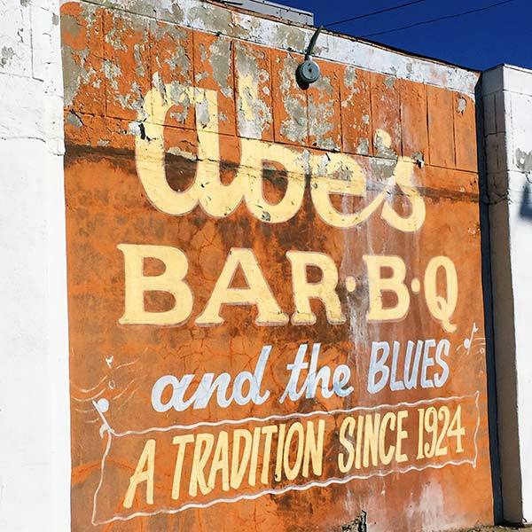 Abe's Barbecue in Clarksdale, Mississippi