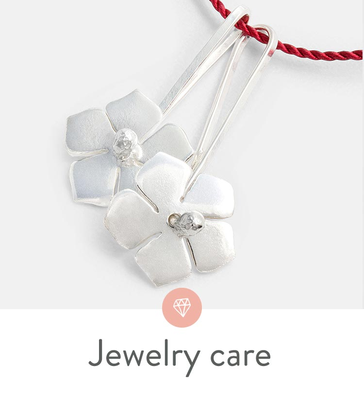 How to care for and clean your gold, silver and gemstone jewelry