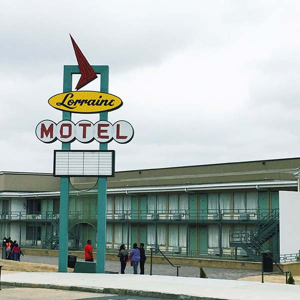 Civil Rights Museum, Lorraine Motel, Memphis, Tennessee.