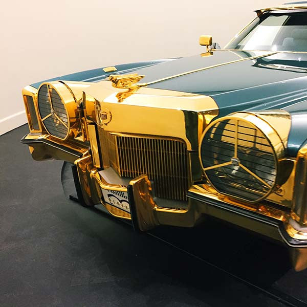 Isaac Hayes El Dorado car at Stax Records, Memphis, Tennessee.