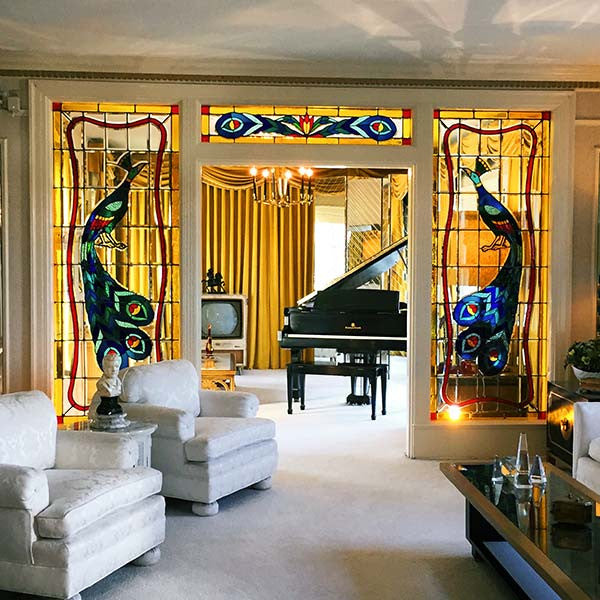 Lounge room at Graceland, Memphis, Tennessee