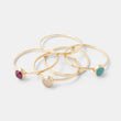 Shop for elegantly simple stacking rings handmade in gold and gemstones in our handmade jewelry store.