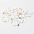 Gold, gemstone and sterling silver stacking rings in our Australian online jewellery shop.
