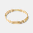 Solid gold stacking rings in our handmade jewelry online store: unique handmade jewelry online